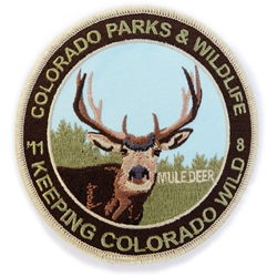 2011 Mule Deer Patch, Limited Edition