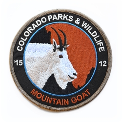 2015 Mountain Goat Patch, Limited Edition