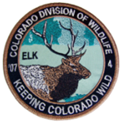 2007 Elk Patch, Limited Edition