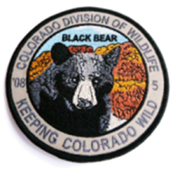 2008 Black Bear Patch, Limited Edition