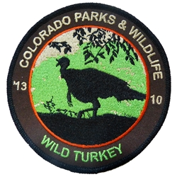 2013 Wild Turkey Patch, Limited Edition