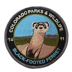 2014 Black-footed Ferret Patch, Limited Edition