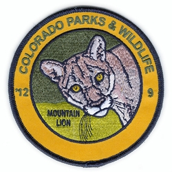 2012 Mountain Lion Patch, Limited Edition